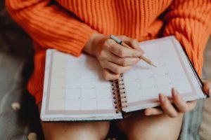 a scheduler pad