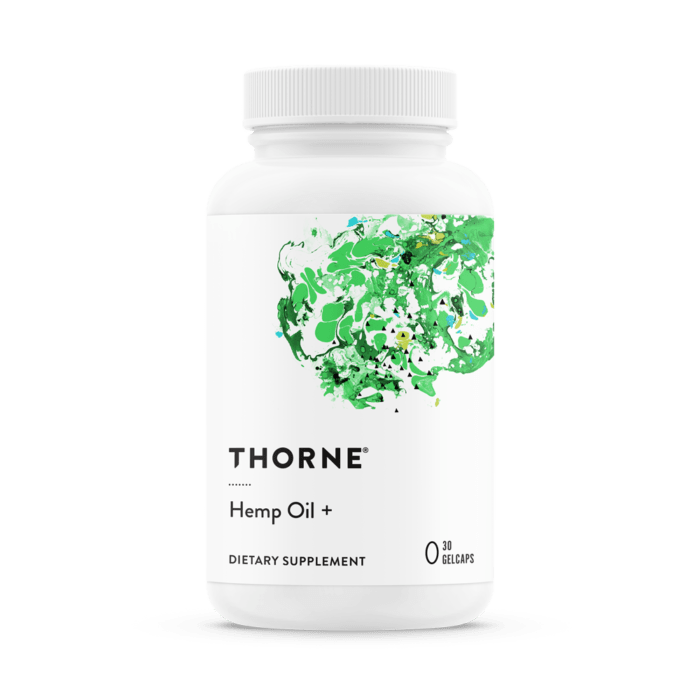 Thorne Hemp oil plus